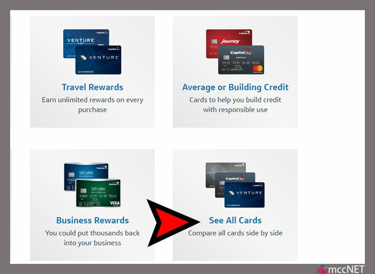How to apply for capital one credit card online