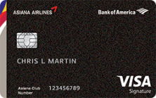 Learn How to Apply for Asiana Visa Signature® Online