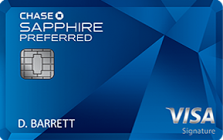 Apply for Chase Sapphire Preferred® Credit Card Online