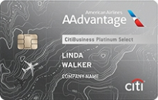 Apply for CitiBusiness® / AAdvantage® Platinum Select® World Mastercard® Credit Card