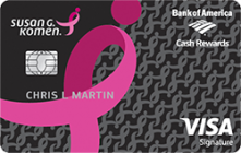 Apply for Susan G. Komen® Visa® Credit Card Online